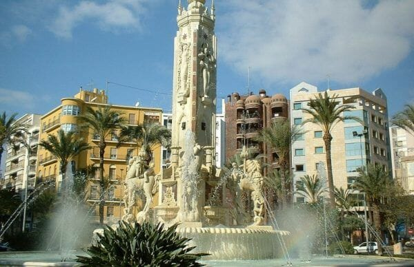 Citytrip Alicante stad I Spanje