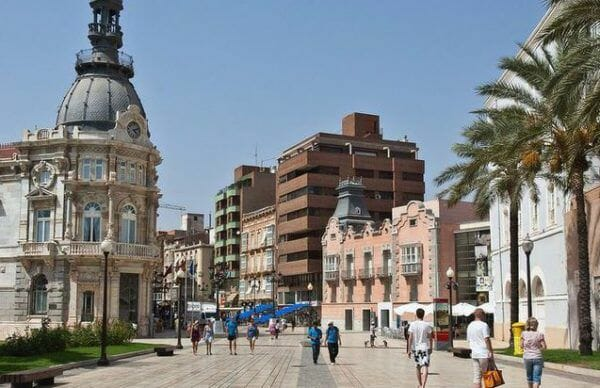 Murcia Stad, vakantie Spanje