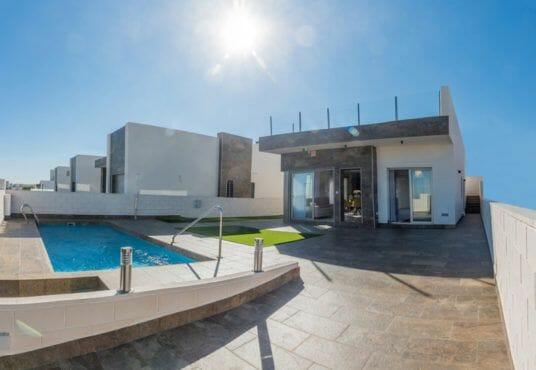 Nieuwbouw villa Spanje