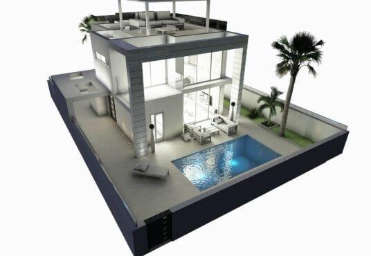 Palm Beach III - Villa kopen Cabo Roig