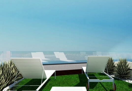 Luxe vrijstaande villa Finestrat met zeezicht