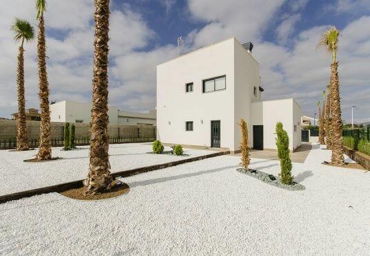 Te koop, vrijstaande villa's bij het Mar Menor