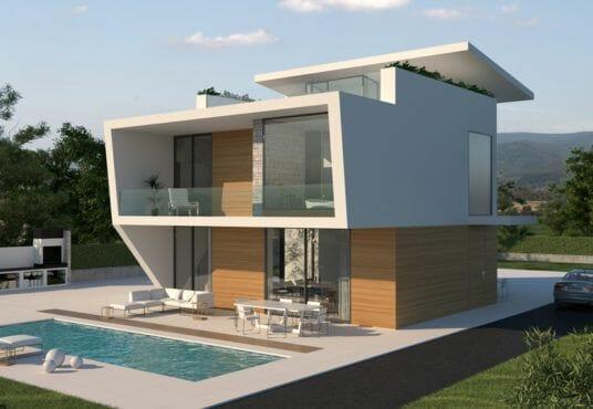 Luxe vrijstaande villa's te koop aan de Costa Blanca zuid