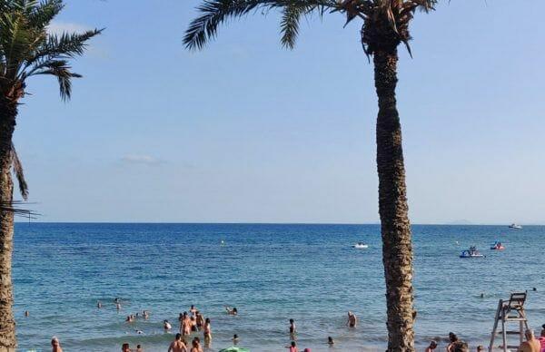 Playa del Cura in Torrevieja