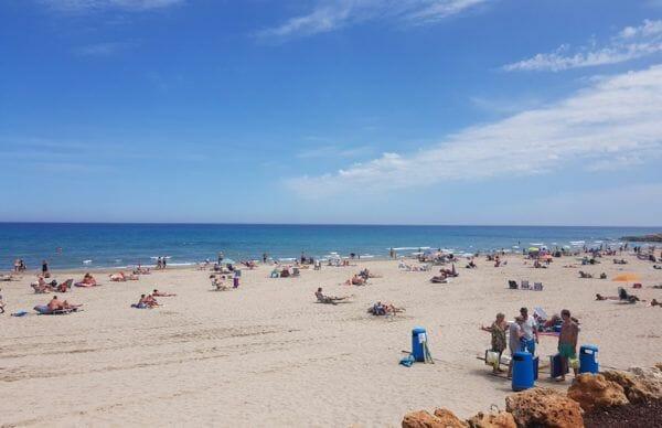 Stranden Costa Blanca | La Zenia Beach - Playa La Zenia