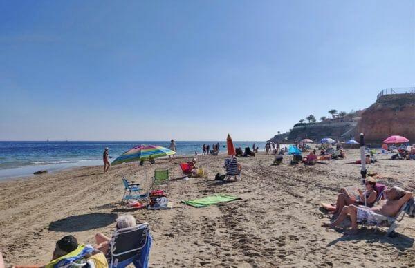 Playa de la Capitan in Cabo Roig