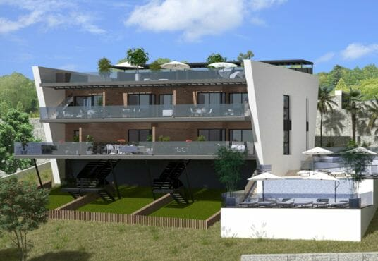 Luxe appartementen Finestrat - Luxury apartments Finestrat