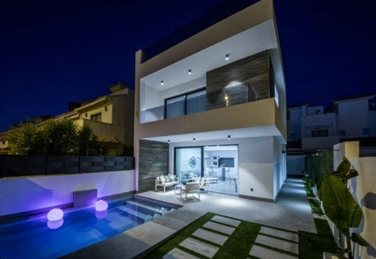 Luxury newbuild villa Costa Calida