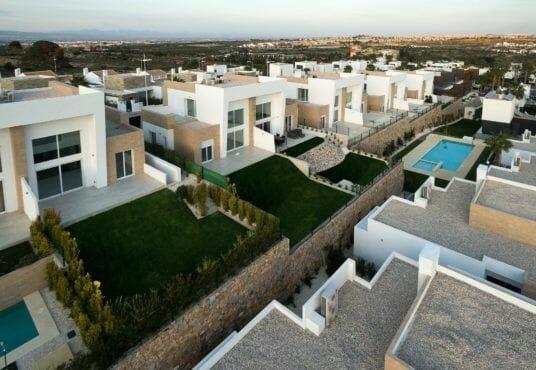 Half vrijstaande villa's te koop Costa Blanca | Algorfa