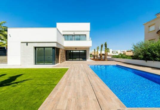 Luxe villa kopen Cabo Roig - nieuwbouw cabo roig