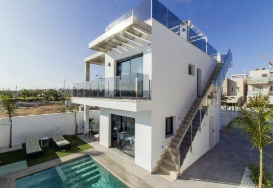 Nieuwbouw villa's te koop Spanje