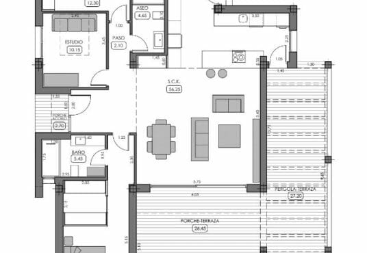 Vrijstaande nieuwbouw villa's La Finca Golf