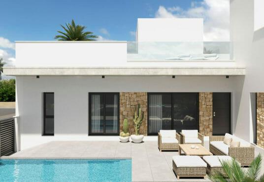 Nieuwbouw bungalows Costa Blanca